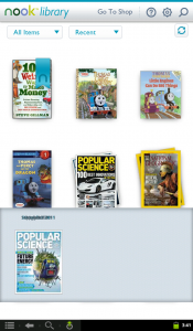 Broken Nook for Android Magazines