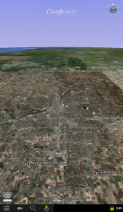 Google Earth on Nook Color